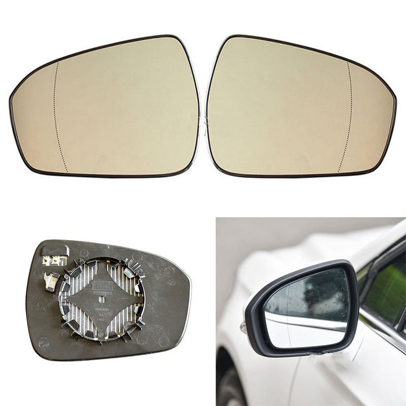 Heated Right Side For Ford Focus 2012-2014 Rearview Mirror Glass