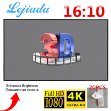 Screen Projector Movies Outdoor 60-72 Portable 100-120inch Theater 84 LEJIADA 50 HD 4K