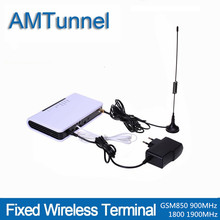 GSM FWT fixed wireless terminal   for connecting desktop phone to make phone call or PSTN burglar alarm uk plug desktop wireless telephone gsm fixed phone support sim card 2g for house home call center office company hotel