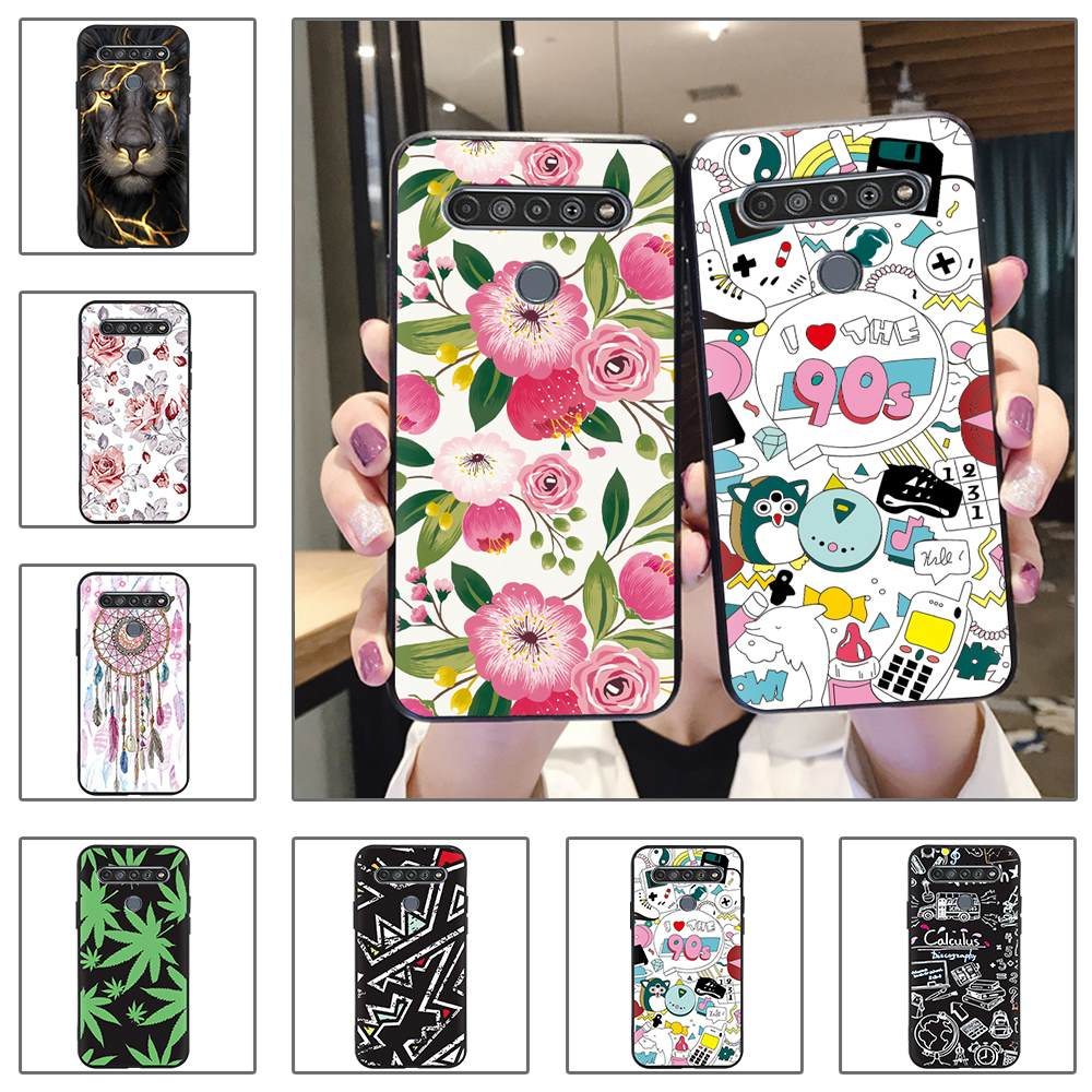 Black Case New Arrival Phone Case For LG K41S/K51S Anti-Knock For Woman Shockproof Cute For Man