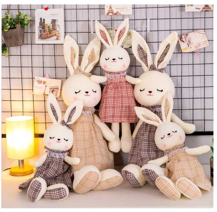 New50cm/70cm/100cm Baby Play Soft Plush Toys High Quality Lovely Rabbit Appease Doll Baby Dolls Hold Muppet Toys