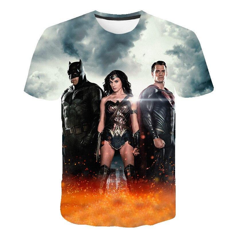 "Child through 5X Justice League Movie /""Batman Logo/"" T-Shirt"