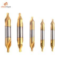 Электрические комбинированные сверла из быстрорежущей стали
