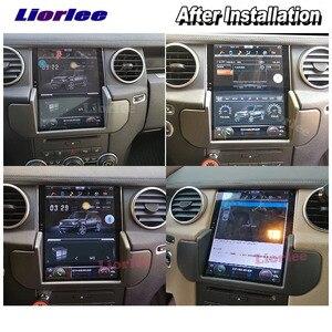 Image 5 - عمودي تسلا أندرويد لاند روفر ديسكفري 4 LR4 L319 2009 2016 راديو سيارة الصوت مشغل وسائط متعددة لتحديد المواقع Carplay ستيريو نافي
