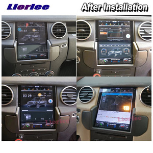 Image 5 - Vertical Tesla Android For Land Rover Discovery 4 LR4 L319 2009 2016 Radio Car Audio Multimedia Player GPS Carplay Stereo Navi