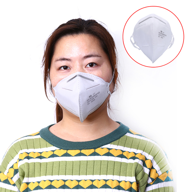 5PCS Reusable Anti Dust Mouth Face Mask Activated Carbon Filter Windproof Mouth-Muffle Bacteria Proof Flu Pure Cotton Face Masks 5