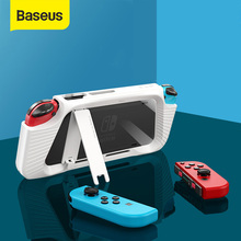 Baseus Case Cover For Nintendo Nintend Switch NS Back Cover Shell Coque Shockproof Case Compatible with Console &Joy Con Control