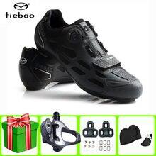 Профессиональная велосипедная обувь tiebao для триатлона дорожный