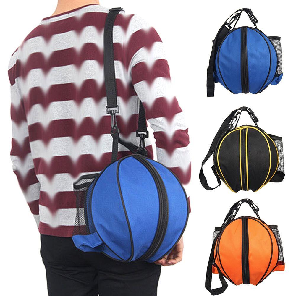 Outdoor Round Basketball Football Volleyball Sport Ball Carrier Shoulder Bag