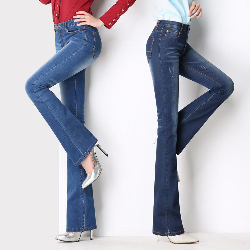 2020 New Women's Slim Thin Jeans Wild Comfortable Jeans Free Shipping