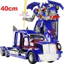 Hot sale 40cm Transformation Robots Car Toy War Hornet Movie 4 Edition Model Classic Action Figure Children Boy Toys Gift