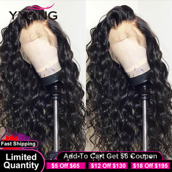 YYong 13X4 Lace Front Wig 13x1 Hairline HD Transparent Lace Part Wig Malaysian Loose Deep Remy Human Hair Lace Frontal Wig yyong 13x1 hairline straight lace front wigs 150% density 13x4 remy human hair lace front wigs transparent lace part wig 32in