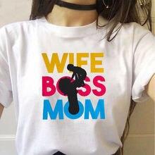 Женская футболка с забавным графическим принтом повседневный