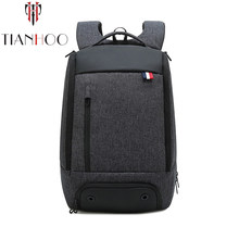TIANHOO High Quality New Backpack Mens Travel laptop Bag Multifunctional Leisure bag Men's Backpack(China)