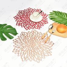 Цветы гибискуса коврик для столовых приборов геометрический