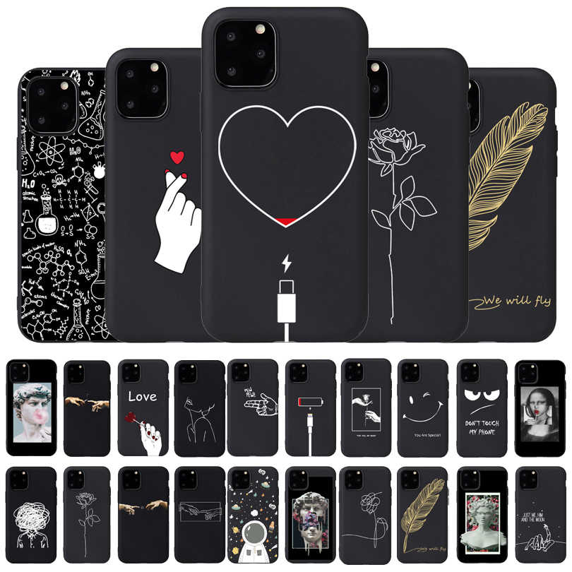 Meisje Body Lover Rose Zachte Case Voor Iphone 7 8 Plus X Xs Max Xr Coque Case Voor Iphone 5 5s Se 6 6 S Plus 11Pro Telefoon Cover Paar