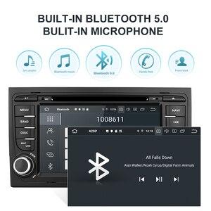 Image 4 - Isudar PX6 2 דין אנדרואיד 10 מולטימדיה לרכב GPS נגן DVD עבור אאודי/A4/S4 2002 2008 automotivo רדיו Hexa ליבות זיכרון RAM 4GB ROM 64GB