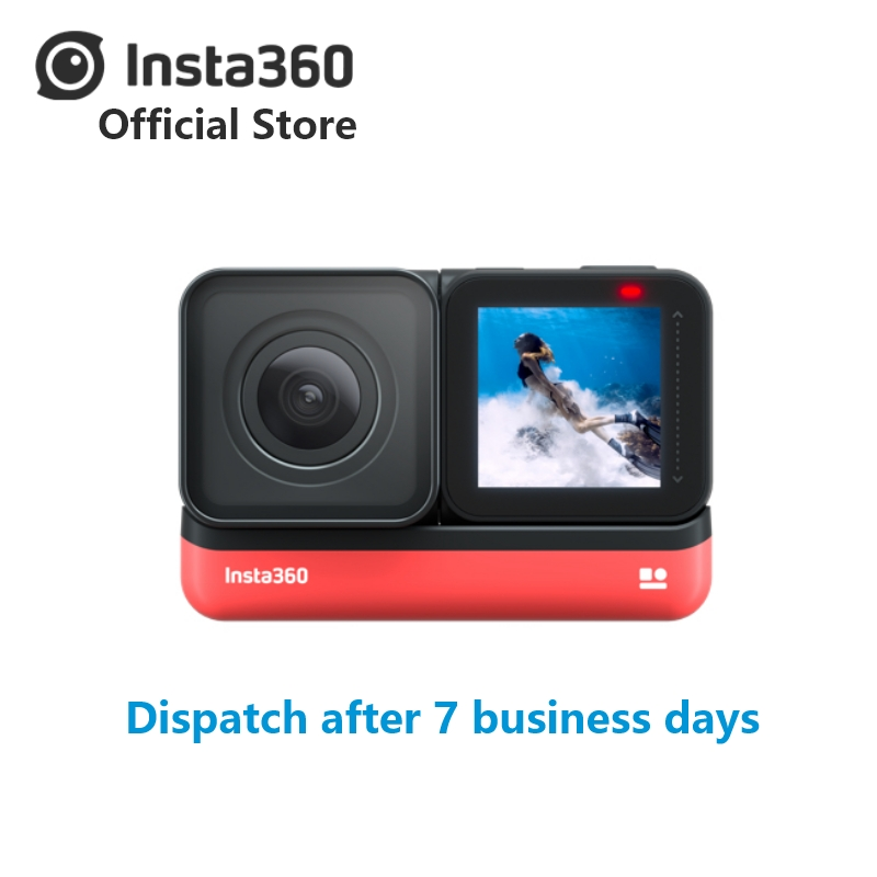 Insta360 Action-Camera Wide-Angle iPhone Waterproof Sports Android 4K New 1-Inch  title=