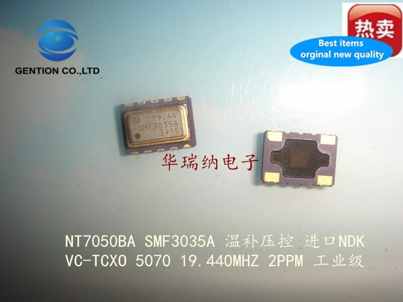 2pcs 100% New And Orginal NT7050BA SMF3035A 19.44M 19.440M 19.440MHZ Patch 5X7 Pressure Control Temperature Compensation
