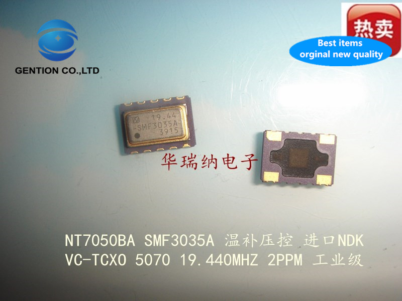 2pcs 100% New And Orginal VC-TCXO Voltage-controlled Temperature-compensated Crystal 5070 7050 19.44M 19.44MHZ 19.440M Imported