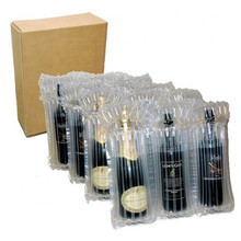 Red Wine Air Column Bag Inflated Buffer Shockproof Logistics Express Delivery Transport Fragile Collision Avoidance Packing Bag
