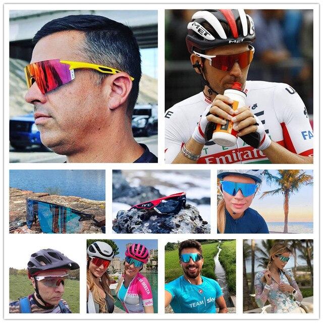 Nrc 3 lente uv400 ciclismo óculos de sol tr90 esportes bicicleta mtb mountain bike pesca caminhadas equitação eyewear 2