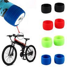 Руль для горного велосипеда, Высокоэластичный мягкий силиконовый Противоскользящий чехол для сиденья, защитное кольцо
