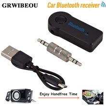 Kablosuz Bluetooth 3.5mm AUX ses Stereo müzik ev araba alıcısı adaptörü hotsale Аудиоприёмник bluetooth 3.5 мм