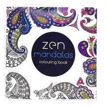 1 pçs novo 24 páginas mandalas flor livro para colorir para crianças adulto aliviar o estresse matar tempo graffiti pintura desenho livro de arte