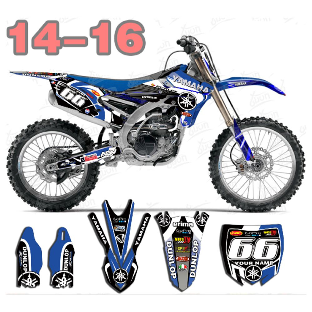 Custom Graphics Full Kit to Fit Yamaha YZ 65 2018 2019 DUKE STYLE stickers