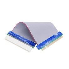 32bit PCI do rozszerzeń PCI gniazdo kabla elastyczne przedłużenie konwerter Adapter 19CM kable rozszerzenie Adapter portu karta rozszerzająca linii