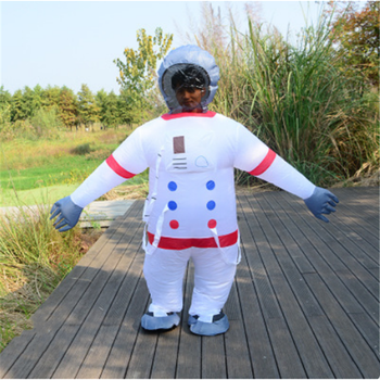Adult Astronaut Anime Carnival Cosplay Costumes Cosmonaut Inflatable For Party Clothing Performance Space Suit Jumpsuit