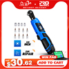 40Nm Cordless Electric Wrench 12V 3/8 Ratchet Wrench to Removal Screw Nut Car Repair Tool Angle Drill Screwdriver by PROSTORMER