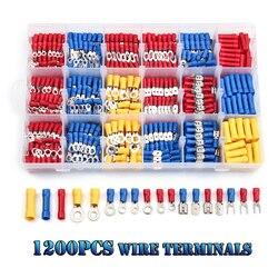 Kit d'assortiment de connecteurs plats à sertir, 1200/660/480 pièces, bornes électriques de voiture, fournitures d'équipements électriques durables