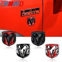 Автомобильный Стайлинг 3D Металлическая Автомобильная наклейка s Автомобильная голова гриль задняя дверь ОЗУ голова эмблема наклейка для ...