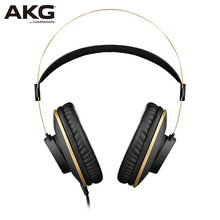 New AKG K92 wired head-mounted professional monitor headset sound engineer hifi music headphone Support Android IOS windows Mac