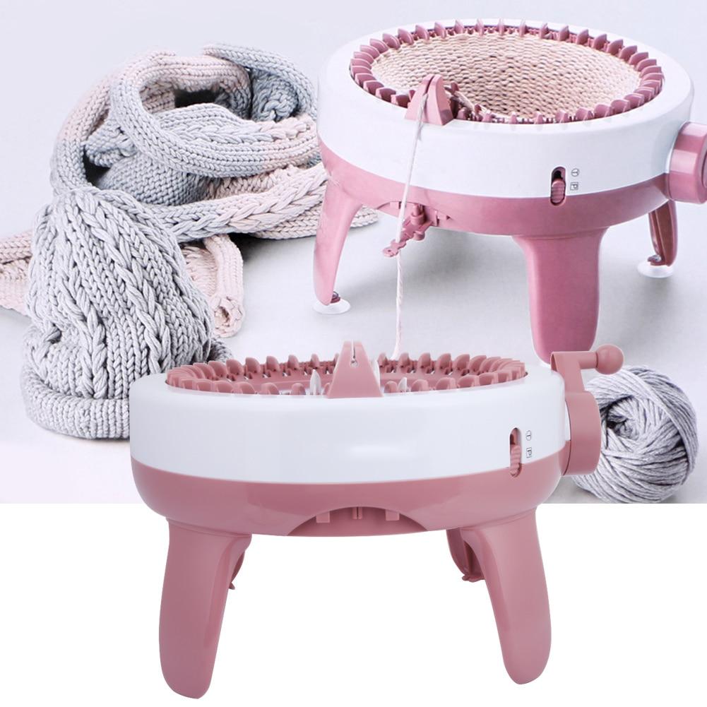 (40 aiguilles) bricolage en plastique à la main tricot Machine à coudre enfants tissage jouet outil accessoires outils de couture