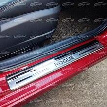 לניסן Rogue T32 רכב סטיילינג אביזרי נירוסטה דלת אדן שפשוף צלחת מגן דוושת סף מדבקה לקצץ