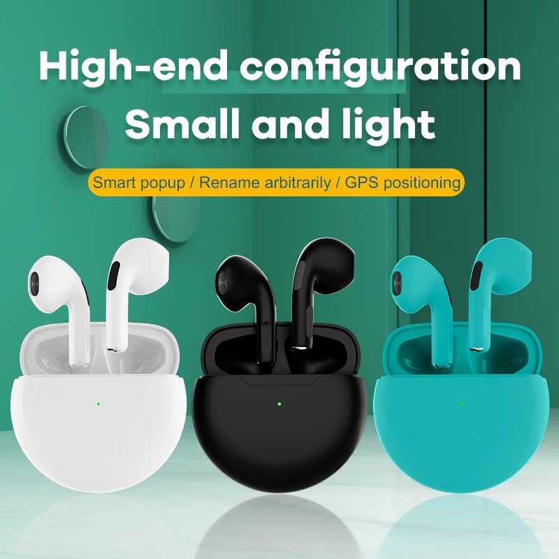 PJD Wireless Bluetooth Earphone Air Buds 4 Pro TWS In-Ear Mini Earbuds Sports Headset For iPhone Xiaomi PK i9000 i90000 TWS MAX