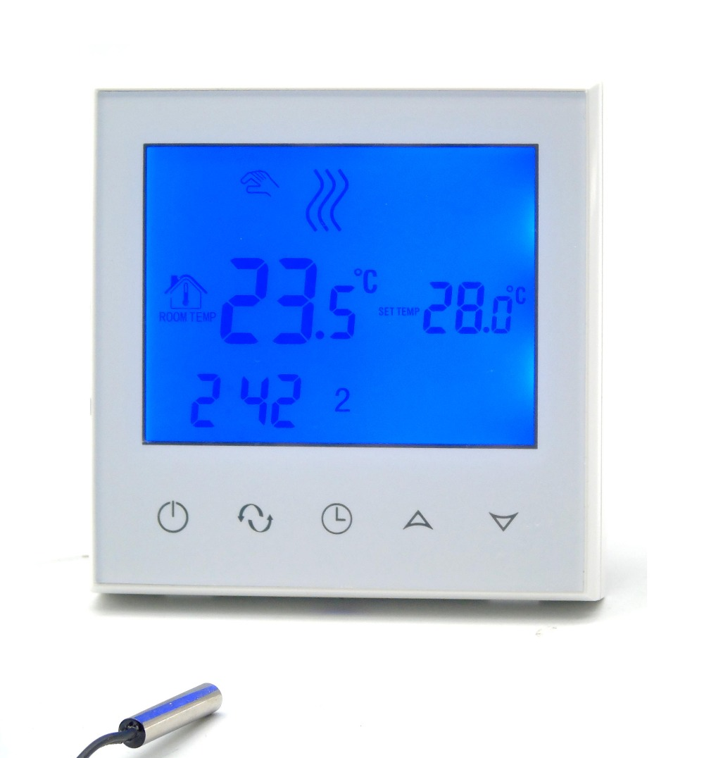 Programmable Touch Smart Thermostat  Floor Heating System Fan Coil Thermostat Gas Boiler Water Floor Heating Thermostat
