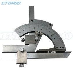 Etopoo натуральный продукт 0-320 градусов Универсальный транспортир с линейкой угловая линейка 0-320 du wan Square