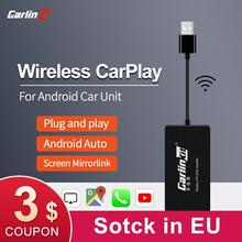Carlinkit USB Wireless Apple CarPlay Dongle and Android Auto for Modify Android Car Services Auto Sale iPhone Autokit Mirror Kit