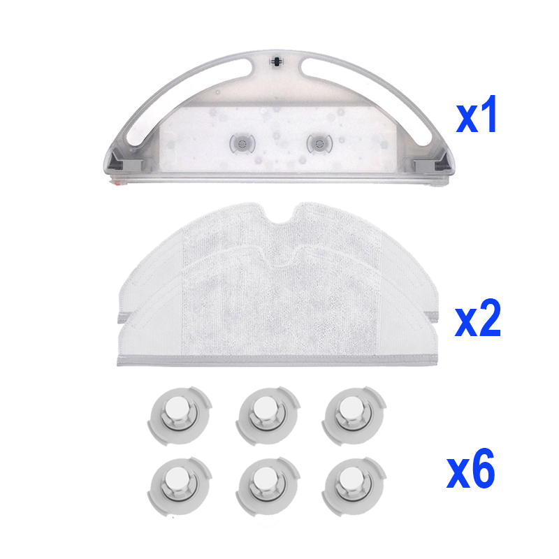 Filter Sätze für Xiaomi Roborock S50 S51 P9V5 Wisch Tücher Wasser Tank