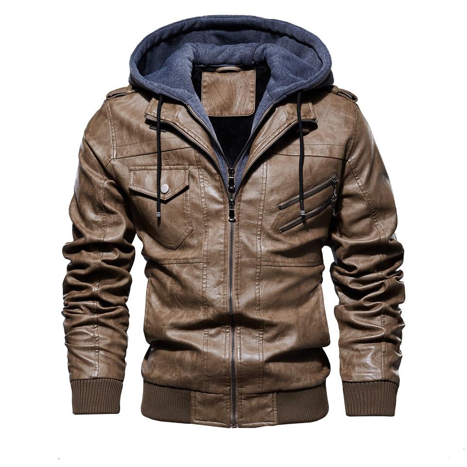 Hb54cf4919eb44c65aa04a647e4bc1568h Mens PU Jackets Outwear Leather Hooded Biker Coat Men 2019 Cool Motorcycle Jacket Male Winter Autumn Jaquetas De Motocicleta 4XL