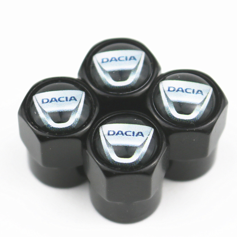 Car Styling Decor Logo Case For Dacia Lodgy 2 Mcv Sandero Duster Logan Sandero Emblems Accessories Auto Caps Badge 4pcs