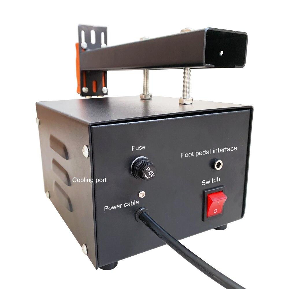 Tools : 3KW Big Power Spot Welder For 18650 Battery Pack Spot Welding Mini Household Nickel Strip Welding Precision Pulse Welder Machine
