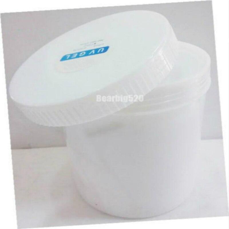 1 KG Hohe Qualität Nail art Klar Rosa Weiß Farbe Für Wählen UV Builder Gel Polnischen Werkzeug Set Nagel liefert
