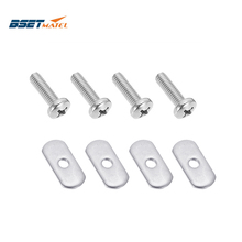 Outdoor-Tool-Accessories Nuts-Hardware Rail-Track Boat Kayak-Mounting-Replacement-Kit