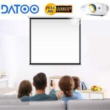 Datoo livego 4k 1080p tela do projetor acessórios suporte android tv smart tv smartphones para a família