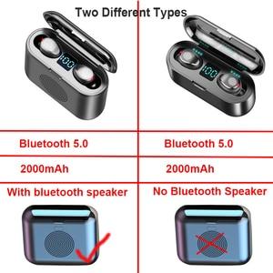 Image 5 - New True Wireless Bluetooth Earphone & Speaker 2 in 1 HD Stereo Wireless Headphones Mini Earbuds Bass Headset with 2000mAh Bin